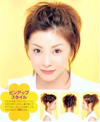 的,那么时日本最流行的发型,美发师么可以赶紧看拉!爱美的女士高清图片