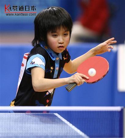 日本乒乓球探索新路子美女+乒乓球