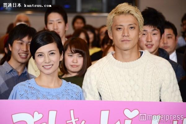电影版《信长协奏曲》日本上映 小栗旬一头金发宣传新片
