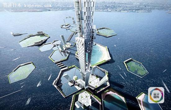"""日本欲建造世界第一高楼""""天空英里塔"""""""