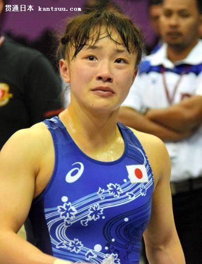 日本世界冠军登坂绘莉被摔哭