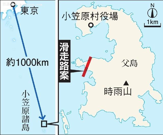 东京都政府有望在小笠原群岛修建机场 与羽田机场连通
