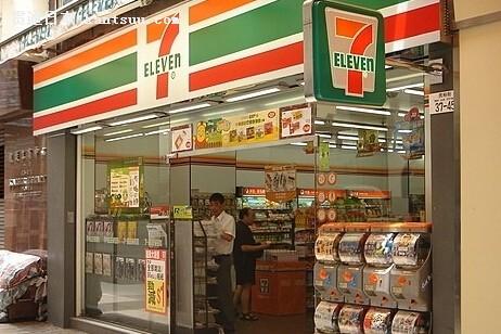 日本7-11便利店
