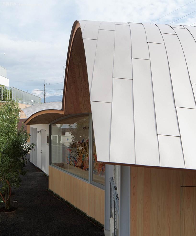 屋顶采用钢结构胶合板