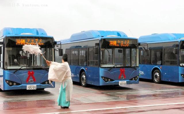 比亚迪电动巴士驶入冲绳 加速拓展海外市场