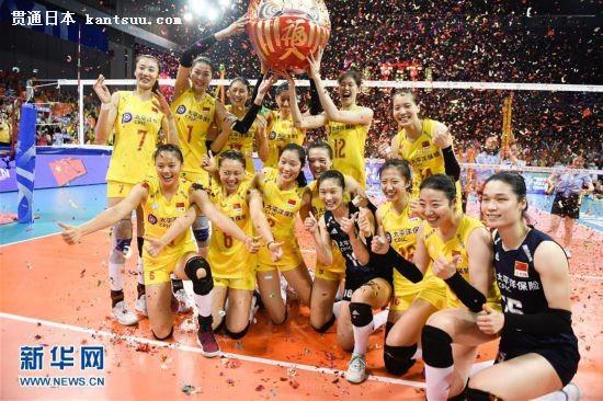 (体育)(2)排球――中国女排挺进东京奥运会