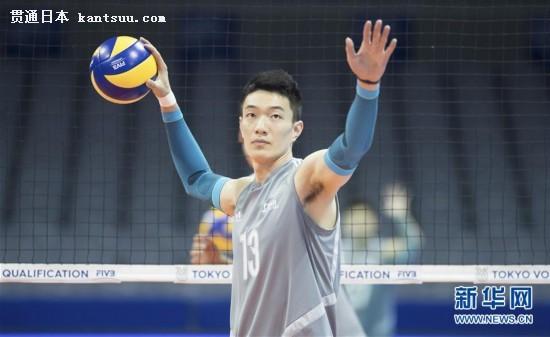 (体育)(7)排球——东京奥运会男排资格赛:中国队备战