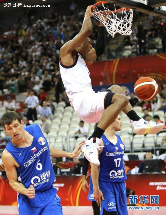 (篮球世界杯)(16)篮球――小组赛:日本队负于捷克队