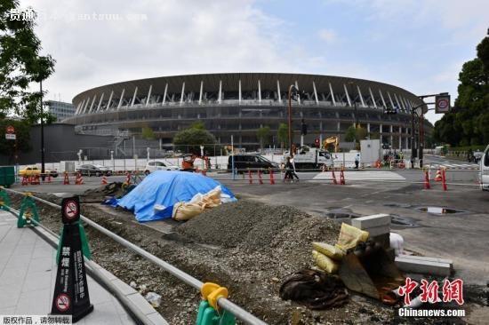 资料图:东京奥运会主场馆新国立竞技场。