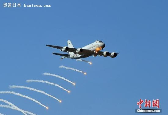 资料图:日本自卫队飞机。王健 摄