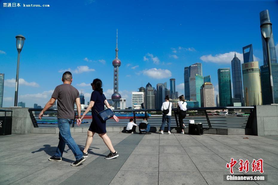 上海で11月中旬における最高�菸掠��hを更新